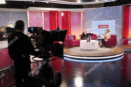 Editorial picture of 'Lorraine Live' TV Programme, London, Britain - 05 Apr 2011