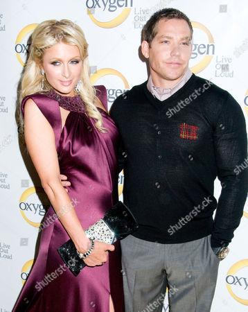Paris Hilton and Cy Waits