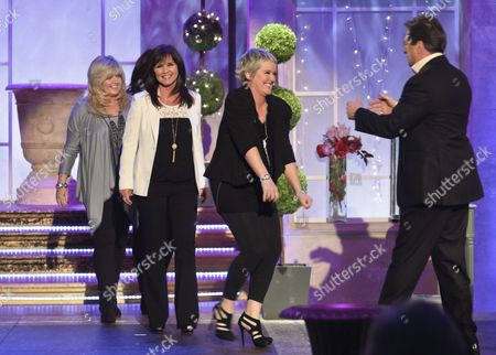 The Nolans - Bernadette Nolan, Maureen, Linda and Coleen with Alan Titchmarsh Nolan