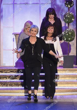 Stock Picture of The Nolans - Bernadette Nolan, Maureen, Linda and Coleen Nolan