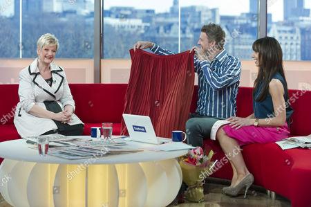 Editorial image of 'Daybreak' TV Programme, London, Britain - 06 Apr 2011