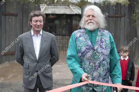 Editorial image of Marquess of Bath opening a new animal attraction at Longleat Safari Park, Britain - 05 Apr 2011