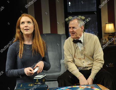 Olivia Hallinan (Joey) and Ian Gelder (George)