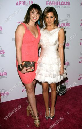 Ashley Tisdale and Jennifer Tisdale