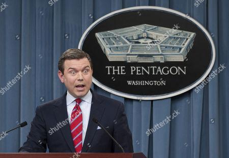 Stock Picture of Pentagon Press Secretary Geoff S Morrell