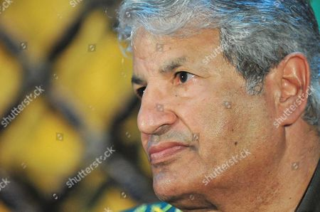 Stock Image of General Abdel Fattah Younes, Senior military officer, head of the rebel forces fighting Gaddafi