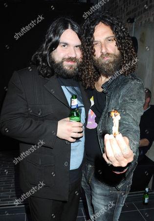 Romeo Stodart (left)