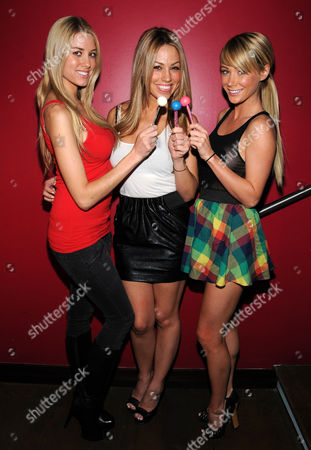 Stock Photo of Heather Rae Young, Jessica Hall and Sara Underwood