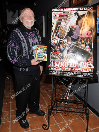 Editorial picture of Ted Mikels at theatre7, Las Vegas, America - 07 Apr 2011