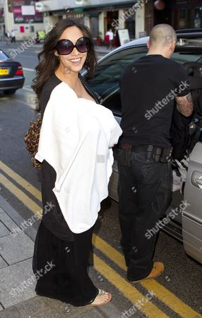 Editorial photo of Myleene Klass out and about in Cardiff, Wales, Britain - 07 Apr 2011