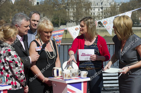 Editorial image of 'This Morning' TV Programme, London, Britain - 08 Apr 2011