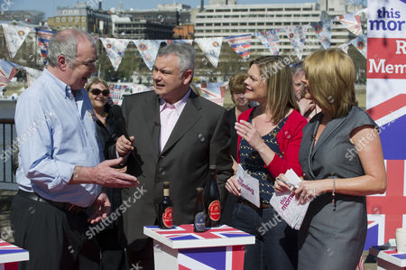 Stock Photo of Kate Bliss with Eamonn Holmes and Ruth Langsford.