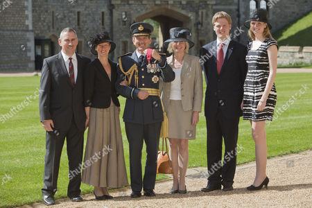 Editorial photo of Investitures at Windsor Castle, Berkshire, Britain - 08 Apr 2011