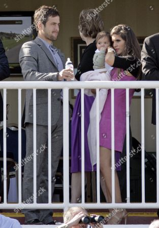 Joe Cole and Carly Zucker with baby daughter Ruby