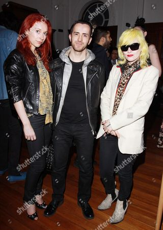 Stock Picture of Natalie Hand, Kinder Aggugini and Pam Hogg