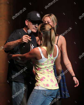 Editorial picture of Charlie Sheen's 'My Violent Torpedo of Truth' Tour, Radio City Music Hall, New York, America - 8 Apr 2011