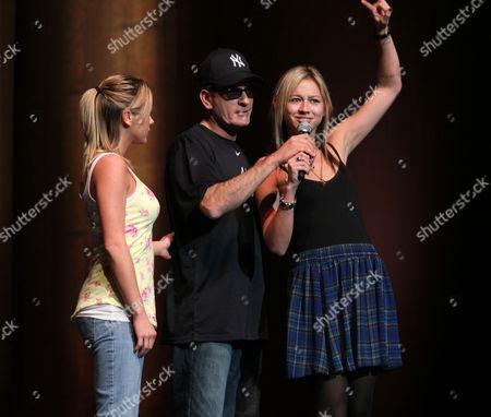 Editorial photo of Charlie Sheen's 'My Violent Torpedo of Truth' Tour, Radio City Music Hall, New York, America - 8 Apr 2011