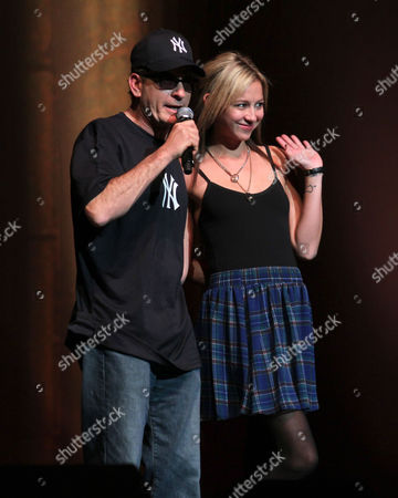 Charlie Sheen and Natalie Kenly