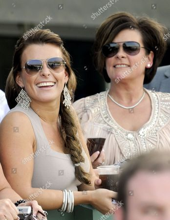 Coleen Rooney and Colette McLoughlin