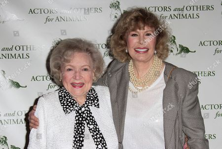 Loretta Swit and Betty White