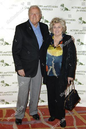 Dick Van Patten and wife Pat Van Patten