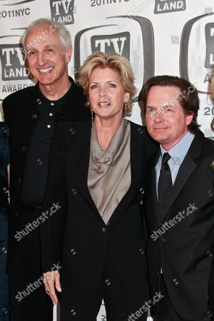 Michael Gross, Meredith Baxter and Michael J Fox