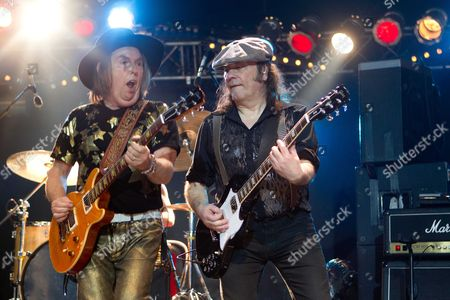 Dave Hill and Mal McNulty