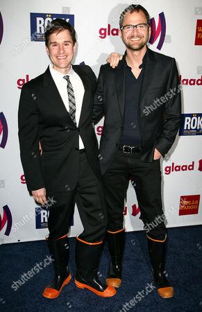 Stock Photo of Brent Ridge and Josh Kilmer-Purcell