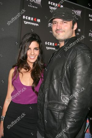 Robert Rodriguez and Electra Avellan