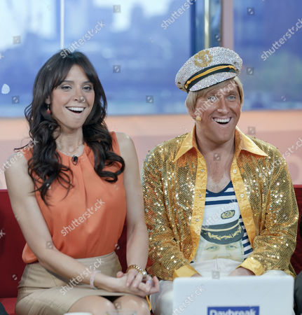 Christine Bleakley and Kevin Cruise