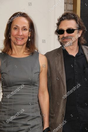 Laurie Metcalf and Dennis Boutsikaris