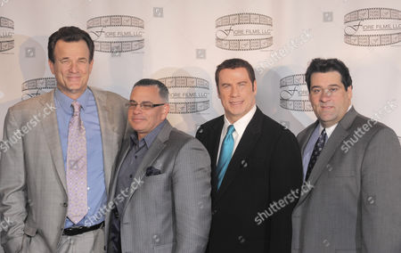 Nick Cassavetes, John A Gotti, John Travolta and Marc Fiore
