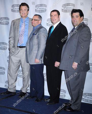 Nick Cassavetes, John A. Gotti, John Travolta and Marc Fiore