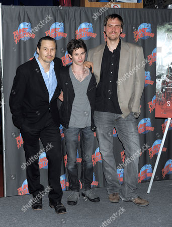Nick Damici, Connor Paolo and Jim Mickle