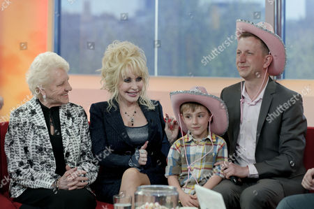 Janey Cutler and Dolly Parton