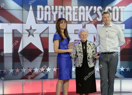 Christine Bleakley, Janey Cutler and Dan Lobb