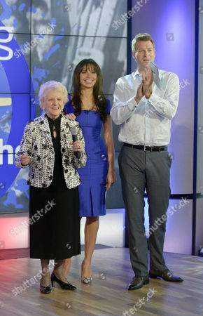 Janey Cutler with Dan Lobb and Christine Bleakley