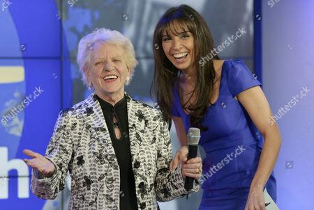 Janey Cutler and Christine Bleakley