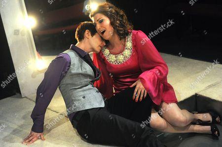 'The Coronation of Poppea' - Jessica Walker (Nero) and Zoe Bonner (Poppea)