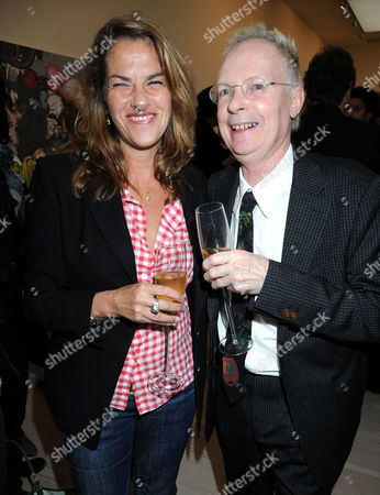 Tracey Emin and Anthony Fawcett