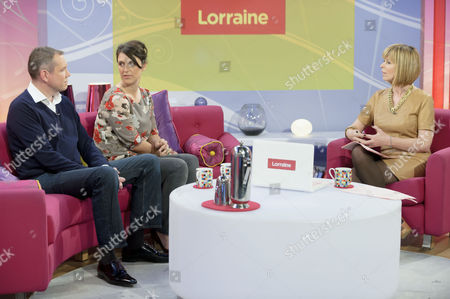 Stock Image of James Hipwell and Rachel Stephenson with Kate Garraway
