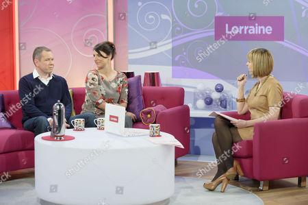 Editorial photo of 'Lorraine Live' TV Programme, london, Britain - 14 Apr 2011