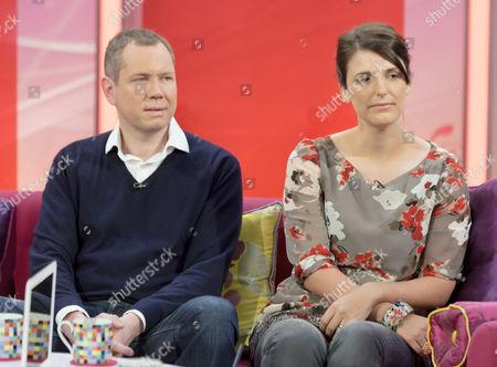 Stock Photo of James Hipwell and Rachel Stephenson