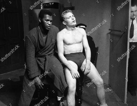 Harry Baird and Derren Nesbitt