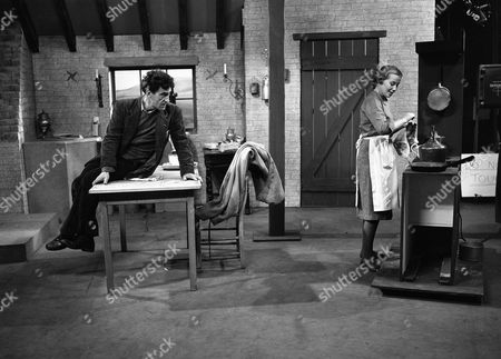 Stock Image of Patrick Troughton and Olive McFarland