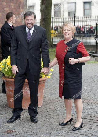 John Donaldson and Susan Moody