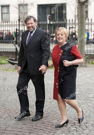 Stock Photo of John Donaldson and Susan Moody