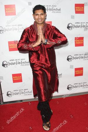 Stock Photo of Yogen Bhagat - Choreographer Bollywood Step