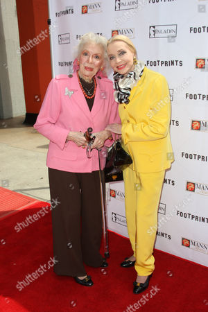 Stock Photo of Anne Rutherford and Anne Jeffreys