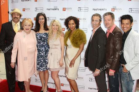 Stock Image of Charley Rossman; Pippa Scott; Sybil Temtchine;Riley Weston; Catherine Bruhler; Steve Pacini; Kirk Bovil and R.J. Cantu